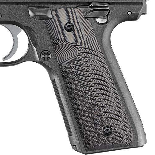 Cool Hand Ruger Mark IV 22/45 Lite G10 Grips, Fits Generation 4 Rimfire Pistol NOT for Gen 3, Gun Metal, MKIV-JV-5