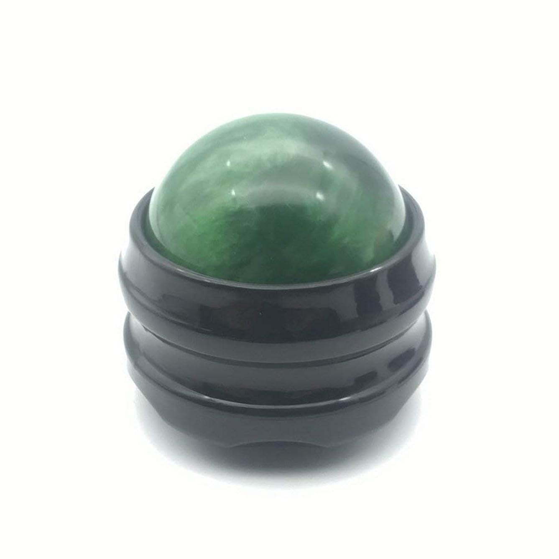 拒否窒素経度手動マッサージローラーボールマッサージボディセラピーフットヒップバックリラクサーストレス解消リラクゼーション - グリーン
