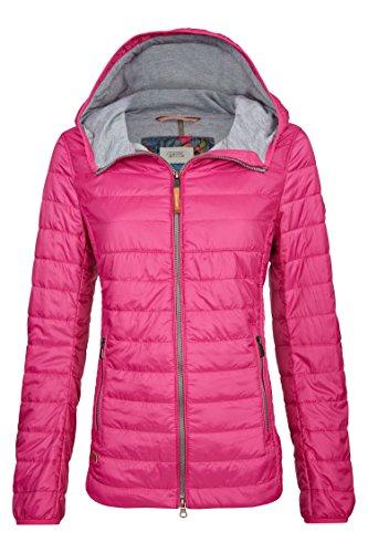 camel active Womenswear Damen Leichtstepp Blouson Jacke, Rosa (Pink 85), 42
