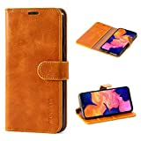 Mulbess Samsung Galaxy A10 Case Wallet, Leather Flip Phone