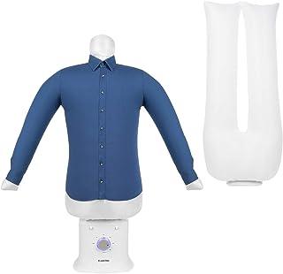 KLARSTEIN ShirtButler Deluxe - Centre de Repassage, Sèche et repasse, 1250 Watts, Taille compacte, Construction Solide, Vo...