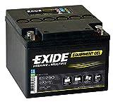 Exide - Batterie plomb etanche gel ES290 12V 25Ah 240A - Palette(s) de 96