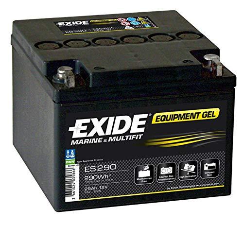 Exide - Batería plomo sellada gel ES290 12V 25Ah 240A - Batería(s)