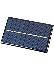 Haihuicer 5V 0.75W Mini Panel Solar DIY 100 * 60mm 150MA Regalo de Carga de energía