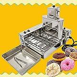 Kolice 1750 pzas/Hora Comercial Mini 4 Filas de donas Que Hace la máquina/Donut Maker/Freír Donuts Maker/Donuts Que Hace la máquina/Mini Donut Maker para Comida callejera Snack Food Equipment