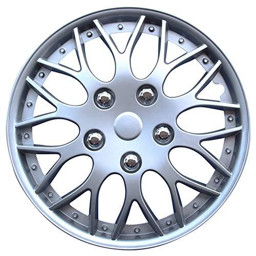 AutoStyle KT-970-15S/L Set Copricerchio Missouri 15 Silver, 4 pezzi