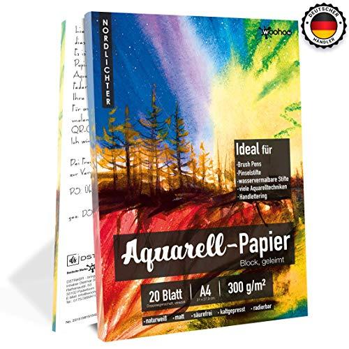 Aquarellpapier für Brush Pen