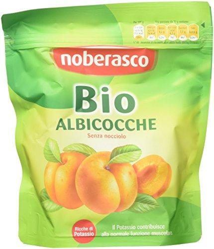 Bio Albicocche Noberasco -Albicocche essiccate morbide denocciolate- confezione da 10 pezzi da 200g