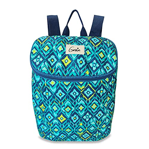 Genie Ikatish litres Teal Casual Backpack (14 inch,Water Resistant), M