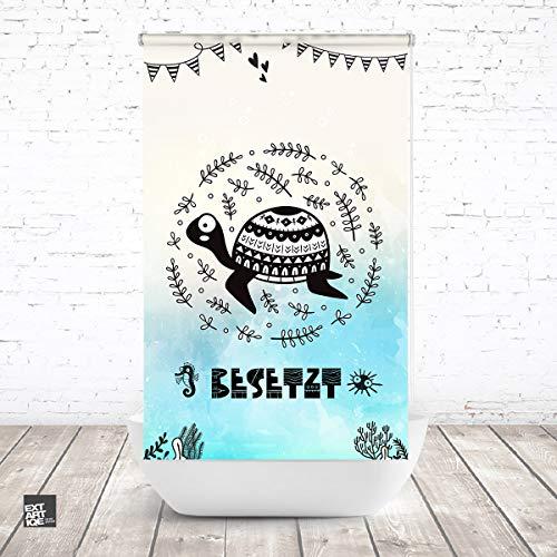 EXTARTIQE ERSATZ Duschrollo für Leerkassette von KLEINE Wolke besetzt3 Textil OHNE LEERKASETTE