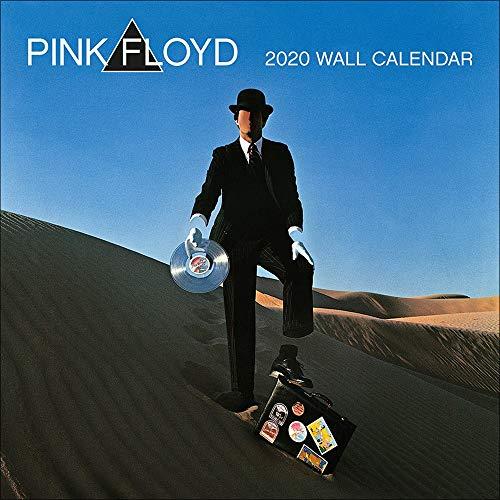 Pink Floyd Kalender 2020 Offizieller Wandkalender 2020, 12 Monate, original englische Ausführung.