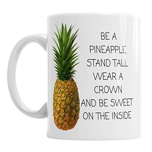 Be a Ananas rechtop Wear A kroon noviteit kantoor koffie beker cadeau thee mok