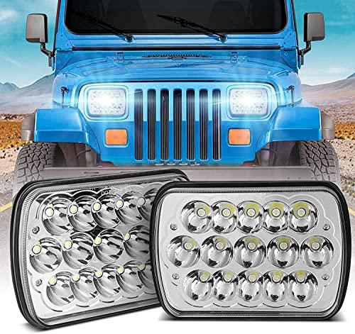 H6054 Led Headlights,Wowtome Rectangle 5x7 Led...