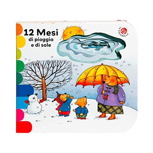 12 mesi di pioggia e di sole. Ediz. a colori (I libri coi buchi)