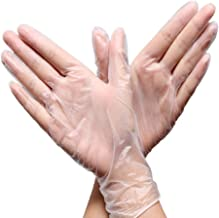 Corona Disposable Latex Gloves Set of 100, Medium