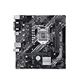 RTYU Placa Base Fit for ASUS Prime B460M-K Micro-ATX Intel B460 DDR4 M.2 USB 3.2 Gen 1 Puerto 64G Soporte 10 Gen LGA 1200 Gaming CPU Motherboard