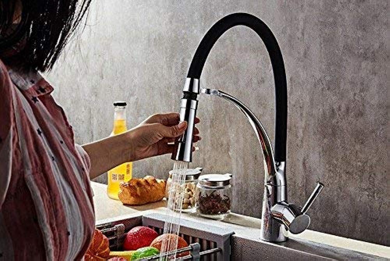 FERZA Home Waschbecken-Mischbatterie Badezimmer-Küchen-Becken-Hahn auslaufsicher Sparen Sie Wasser Küchenspüle Wasser