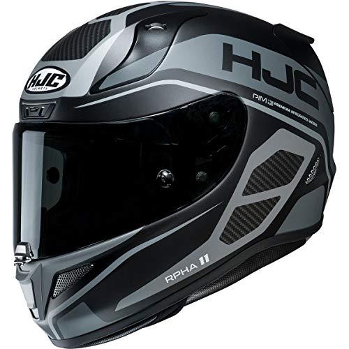 HJC Helmets RPHA 11 Pro Helmet - Saravo (Medium) (Black/Grey)