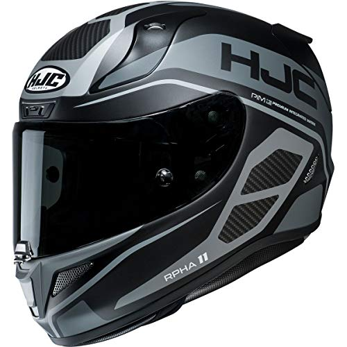 HJC RPHA 11 Pro Helmet - Saravo (Medium) (Black/Grey)