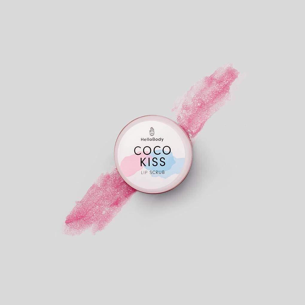 Spring new work HelloBody Coco Kiss Lip 0.5 oz Scrub Brand Cheap Sale Venue