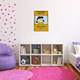 Lucy Doctor is in Peanuts Snoopy Wall Graphic Decal Sticker 25' x 18'