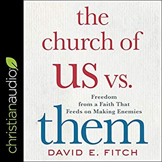 The Church of Us vs. Them audiobook cover art