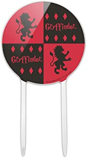 GRAPHICS & MORE Acrylic Harry Potter Gryffindor Pattern Cake Topper Party Decoration for Wedding Anniversary Birthday Grad...