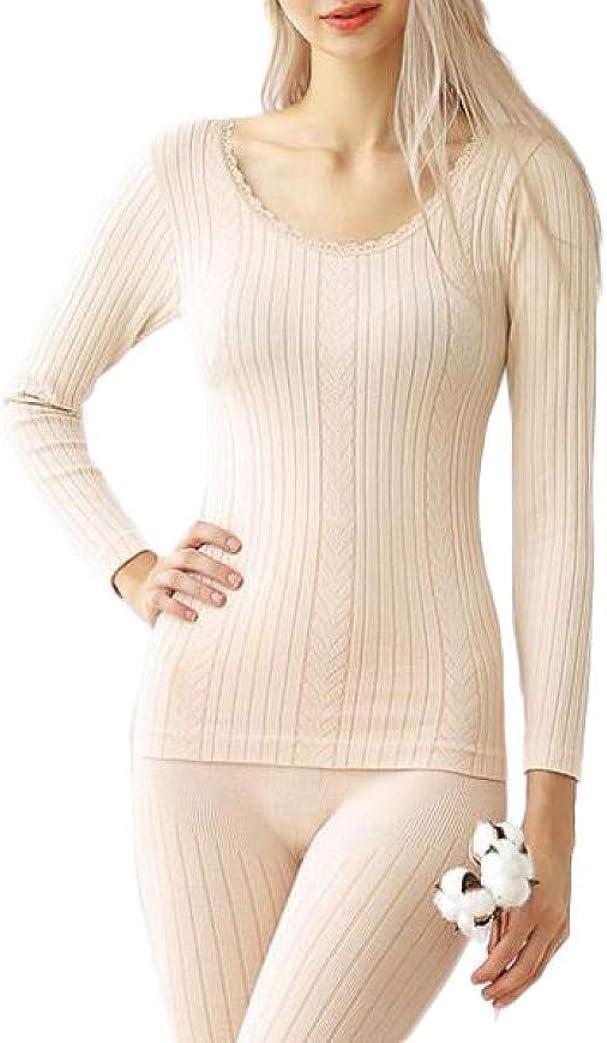 Thermal Underwear Suit Women Long Johns Winter Ultra Seamless Shape Slimming Ladies Intimate Sets
