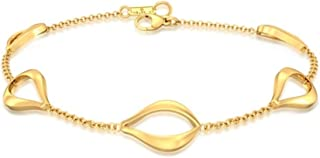Goldhopper 18kt Yellow Gold Bracelets For Women