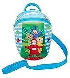 Teletubbies Rucksack mit abnehmbaren Sicherheitszügeln, für Jungen und Mädchen, Rucksack, Blau