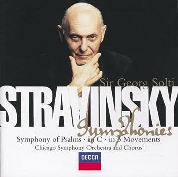 Stravinsky: Symphony in C/Symphony in 3 Movements/Symphonie de Psaumes
