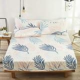 haiba Spannbettlaken - Wasserbett Spannbetttuch Matratzen, 180 x 200 x 26 cm