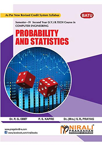 PROBABILITY AND STATISTICS (BTCOC402) (English Edition) eBook: Dr. P. G. DIXIT, Prof. P. S. KAPRE, Dr. (Mrs.) V. R. PRAYAG: Amazon.es: Tienda Kindle