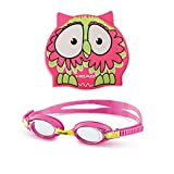 HEAD Uni Tauchbrille Set Meteor Character lime / pink