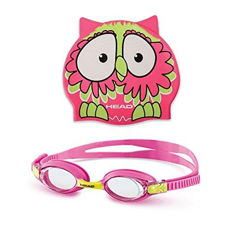 HEAD Set Meteor Character Unisex Schnorchelbrille, Limette/Pink