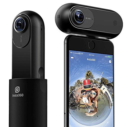 【日本正規代理店品】Insta360 Nano 360°全方位パノラマ式カメラ iPhone専用全天球カメラ 360°写真や動画を...
