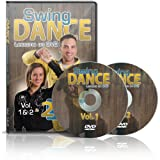 Swing Dance Lessons on DVD Vol 1 & 2 - Country Swing Dance Instructional DVDs (Two Disc Set)