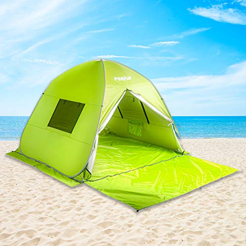 Poayhut UV50+ Deluxe Size Instant Setup Beach Tent