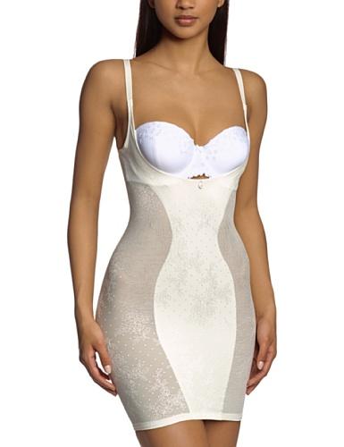 Triumph Damen Unterhemd Cool Sensation Dress , Gr. 44, Elfenbein (VANILLE (GT))