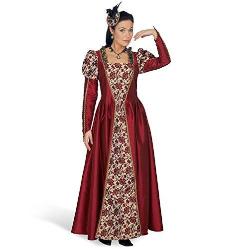 Hochwertiges Tudor Kleid Mary Kostüm Gr. 44 46 - Prinzessinnenkleid im Stil des 16. Jahrhunderts für den Theaterauftritt