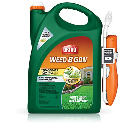 Ortho Weed B Gon Plus Crabgrass Control Ready-to-Use2 with Comfort Wand, 1.33 Gallon