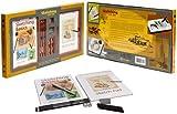 Barro Charco Inc dibujo Set de regalo con bocetos, lápices, carbón y accesorios