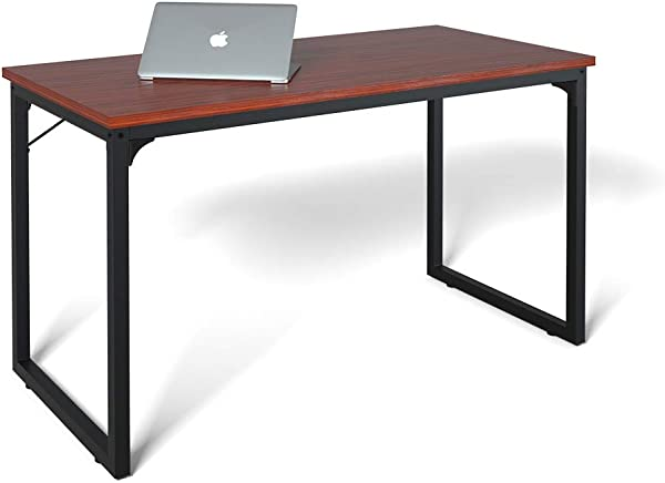 Computer Desk 55 Modern Simple Style Desk For Home Office Sturdy Writing Desk Coleshome Teak