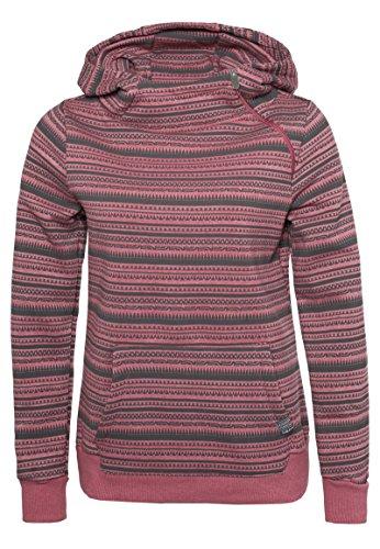 Sublevel Damen Sweatshirt mit Kapuze, Größe:XS;Farbe:Middle Pink