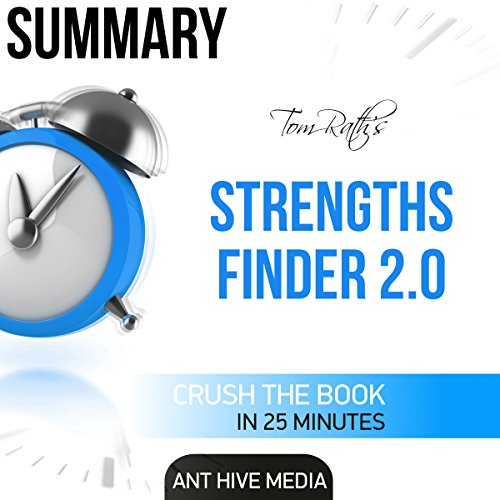 Summary: Tom Rath's StrengthsFinder 2.0 audiobook cover art