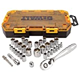 DEWALT 34-Piece Drive Socket Set