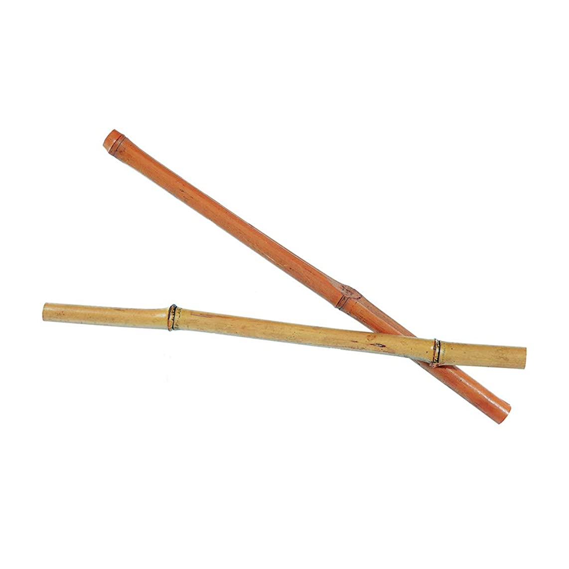 """Natural Bamboo Rods – 2 Pack – Comes in 12 Inch Length with 5/8"""" Thickness – Great for Complimentary Pieces – Wall Hangings, Macramé & More"""