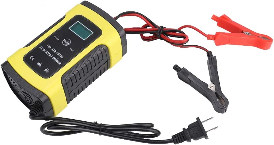 Suuonee Battery Smart Charger 12V 6A Car Pulse 110-220V Repa AC famous Now on sale