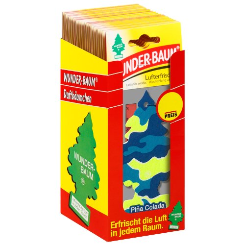 Wunder-Baum 134301/24 Lufterfrischer 24-er Box Pina Colada
