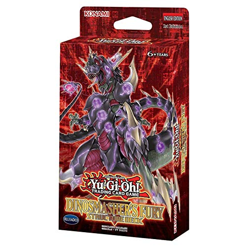 Yu-Gi-Oh! TCG: Dinosmasher's Fury Structure Deck